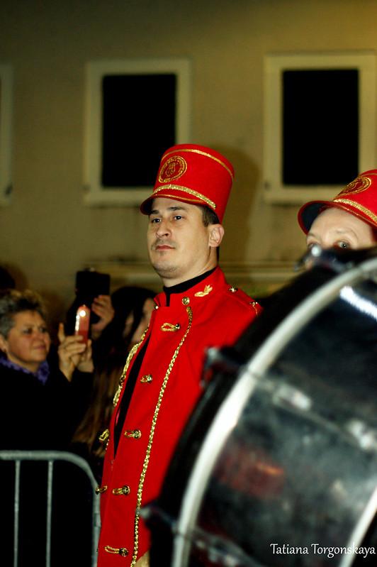 Музыкант из городского оркестра