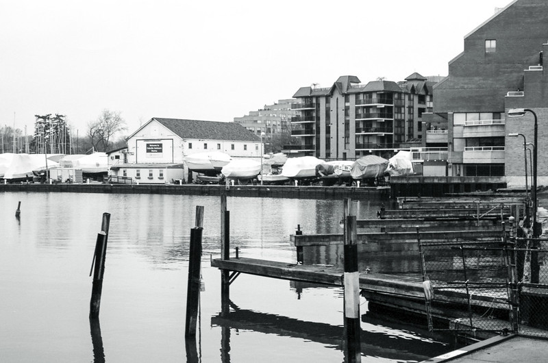 Brone Harbour in Winter