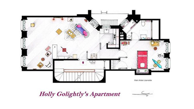 "Sample from ""Famous Television Show Home Floor Plans"""