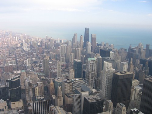 View from Sears Tower | by gelle.dk