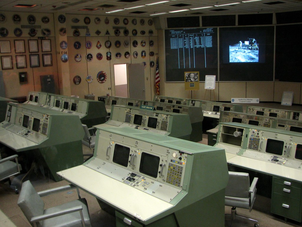 the old mission control room | All apollo missions ...