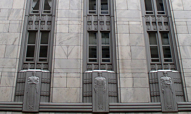 Art Deco Style Facade In Pittsburgh What Is This