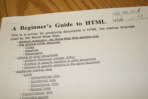 What is this HTML Stuff | by cogdogblog