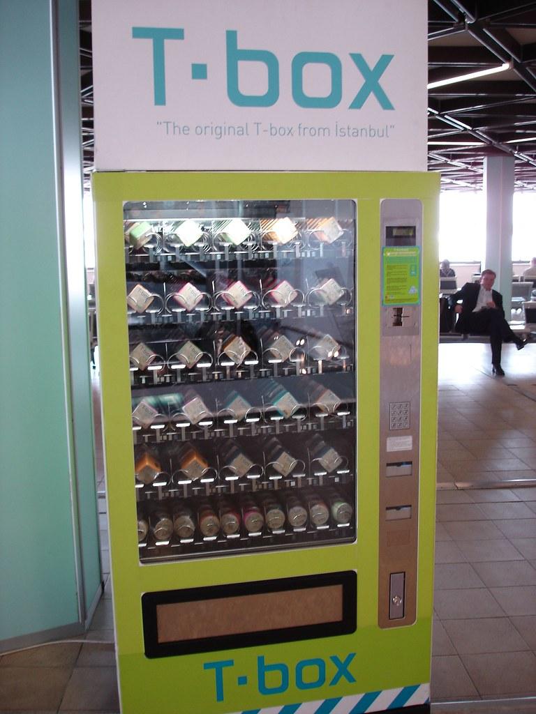 T-Shirt Vending Machine, Istanbul Airport   Matthew ...