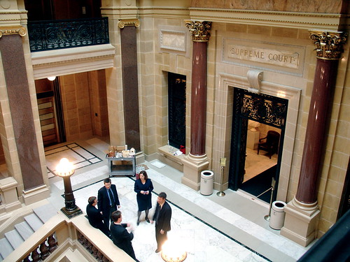 Moot court at the Wisconsin Supreme Court | by Ann Althouse