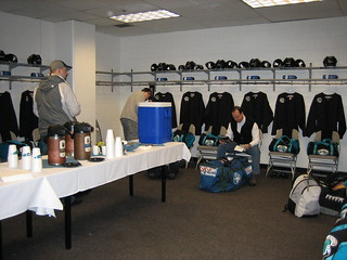 The locker room in the morning | by mhedstrom