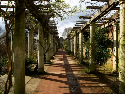 The Pergola In Hampstead Heath London The Pergola In