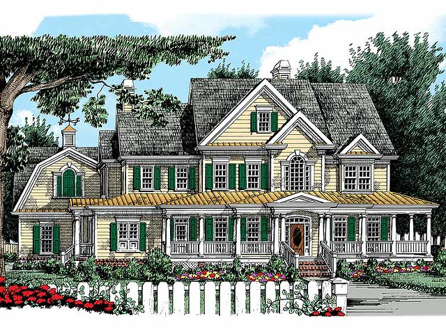 Homeplan hwepl08176 from tidewater muse flickr for Www eplans com