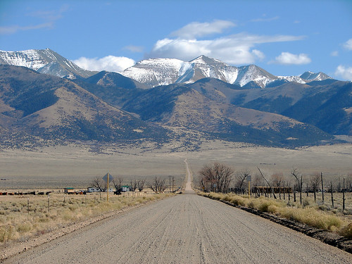 Road in the San Luis Valley, Southern Colorado | by Jesse Varner