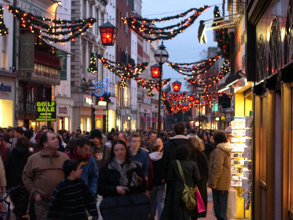 Grafton Street Christmas Shopping Dublin | Ben Askins | Flickr