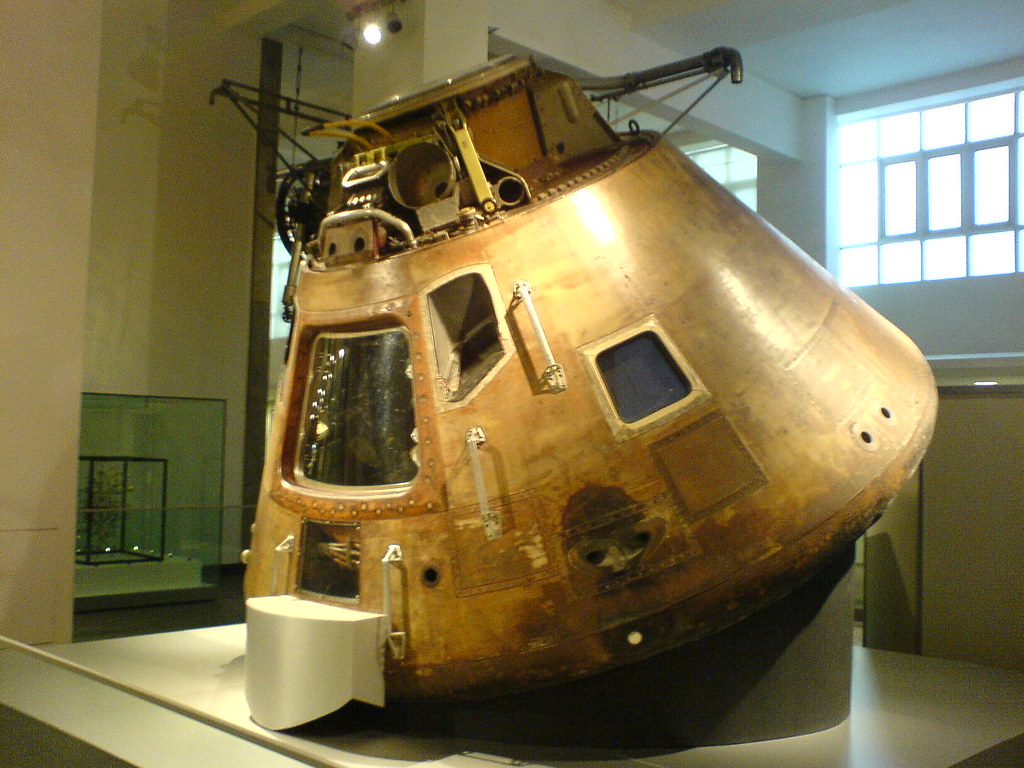 science museum apollo 10 command module | As used here ...