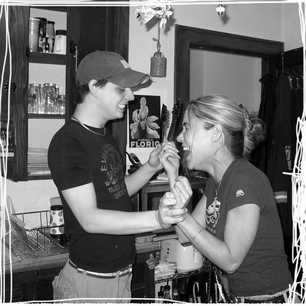 Ali And Zac Dancing In My Old Kitchen. Good