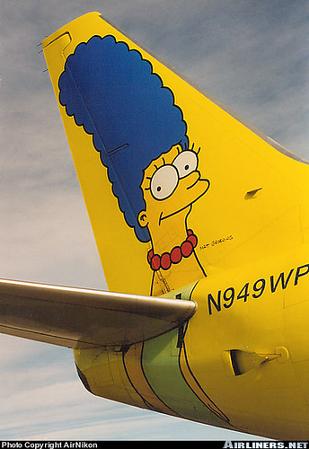 Avion de los Simpsons 3 | by orzalaga