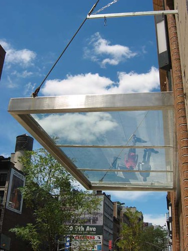 See Through Awning In Manhattan S Chelsea Neighborhood
