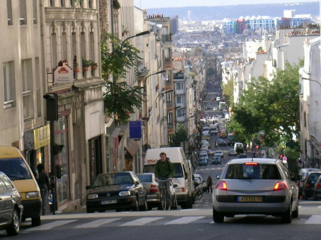 rue de m nilmontant paris france paris 20 me perry tak flickr. Black Bedroom Furniture Sets. Home Design Ideas