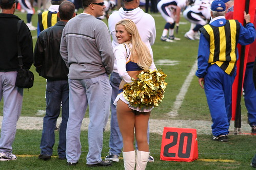 San Diego Cheerleader Can Also Be Found At Broncosfreaks