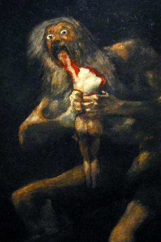 Saturn Goya 1821 1823 Mark Sample Flickr