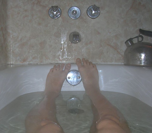 Bathtub feet | My favorite place. See also, Reanna\'s bathtub… | Sam ...