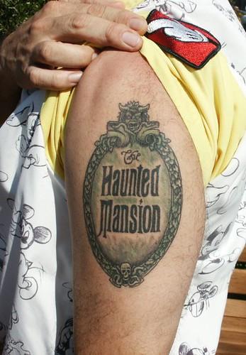 Castmember Tattoo   In The Magic Kingdom in Walt Disney ...