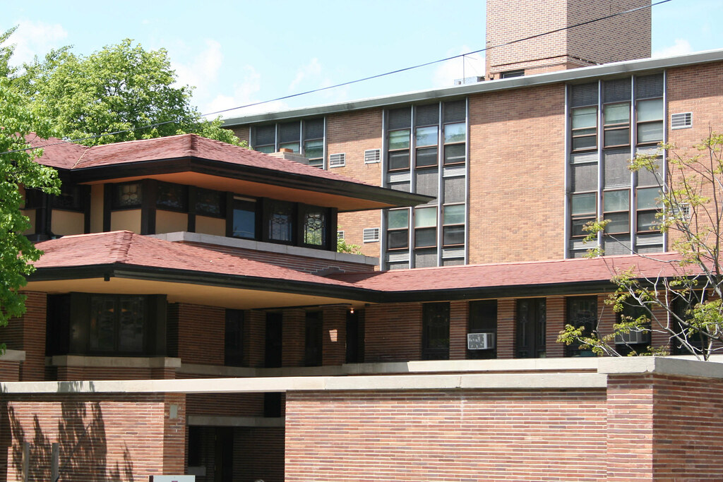 Robie House Here We See The Building As It Is Today