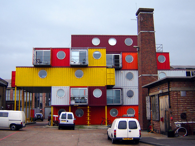Container city 2 leamouth london container city 1 is rou flickr - Container homes london ...