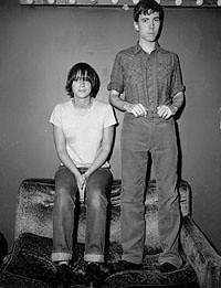 Bill Callahan (smog) and Chan Marshall (cat power) in 1994 ...