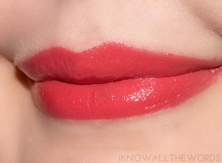 A little bit Lippy with Arbonne Smoothed over Lipstick Hibiscus (1)
