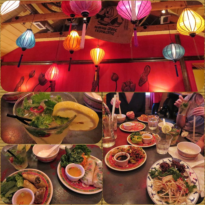 Montage of Hanoi Bike Cafe