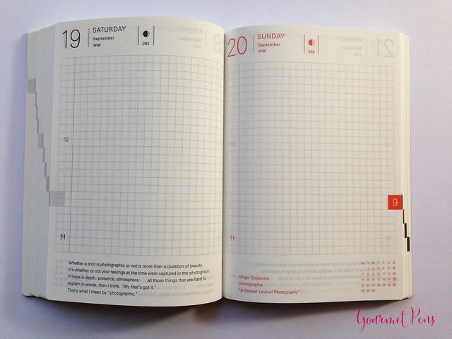 Review 2015 Hobonichi A6 Planner @TheJournalShop (16)