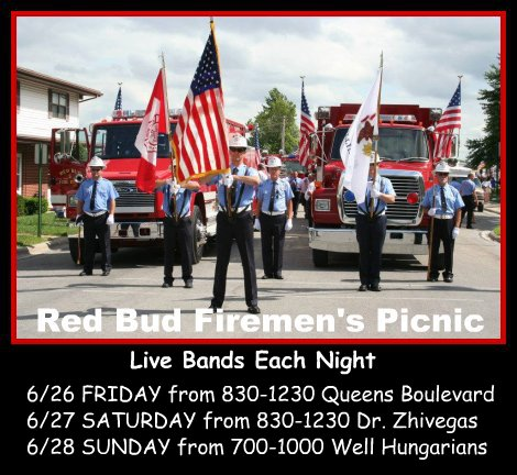 Red Bud Firemen's Picnic 6-26 thru 6-28-15