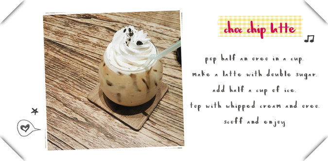 Daisybutter - Hong Kong Lifestyle and Fashion Blog: iced latte recipe, Oreo coffee recipe