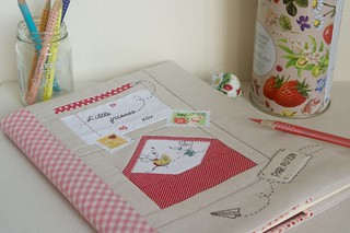 Little Friends. Mousy Mail Notepad Cover | by StitchingNotes
