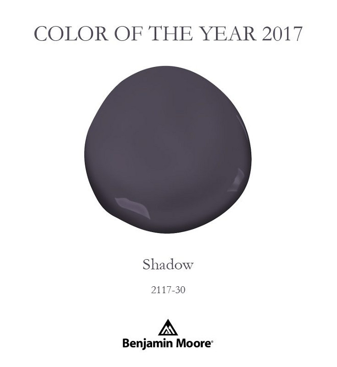 Shadow - Benjamin Moore's 2017 Color of the Year