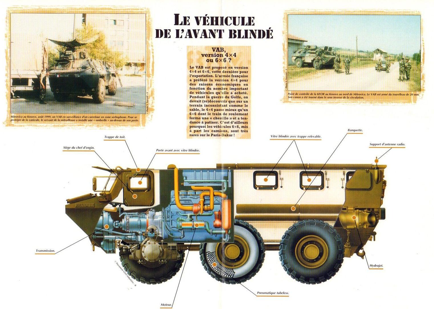 Renault VAB VTT et VCI des Forces Armées Royales 31832962815_18a58603cc_o