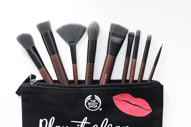 The Body Shop Vegan Brushes Review