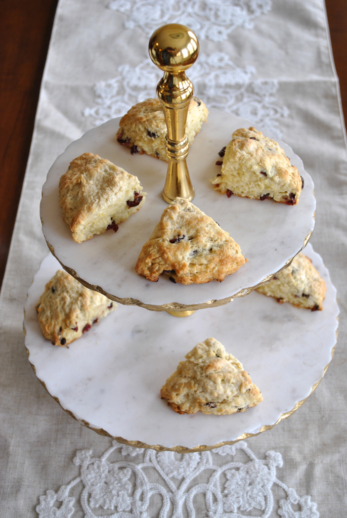 Cranberry Orange Scones-@akeeleywhite-Head to Toe Chic