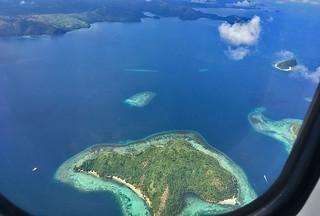 Coron - Busuanga departure aerial