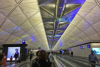 HK Airport - Walkway