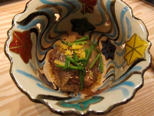 Kobe beef daikon