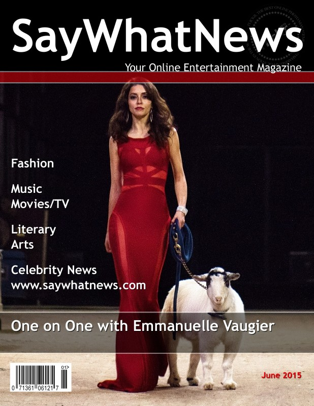 Emmanuelle Vaugier SayWhatNews June 2015 magazine