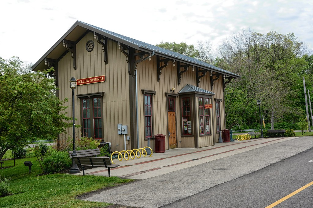 Train Depot Yellow Springs OH