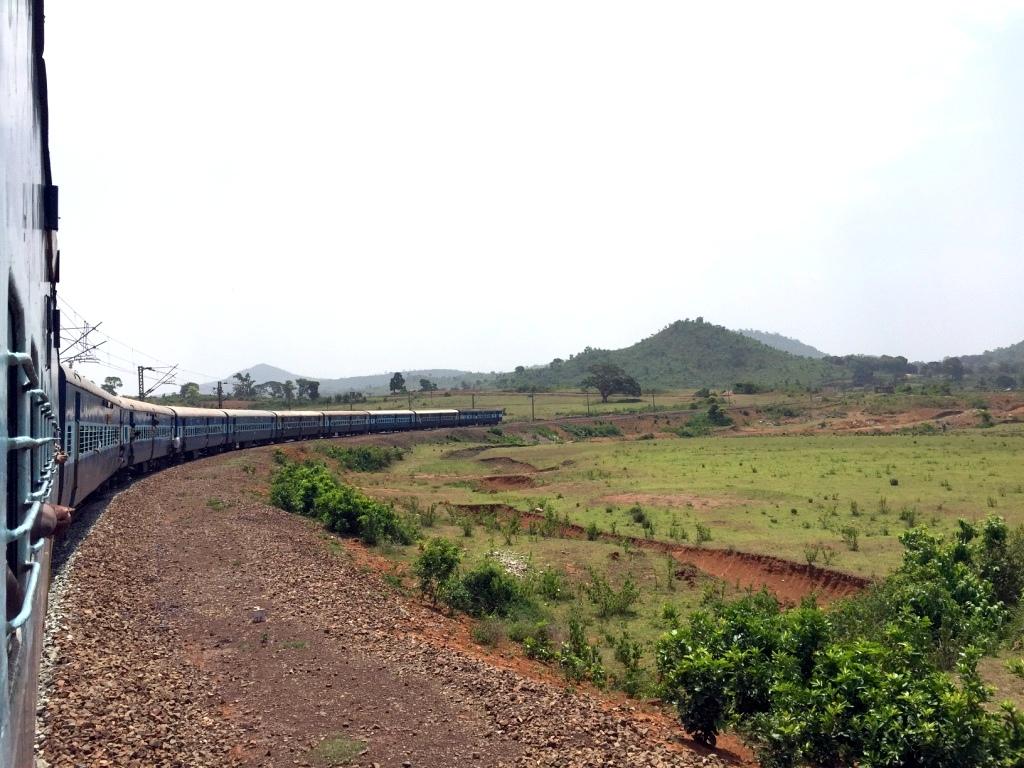 Rebecca Saw - india - visakhapatnam- train-002