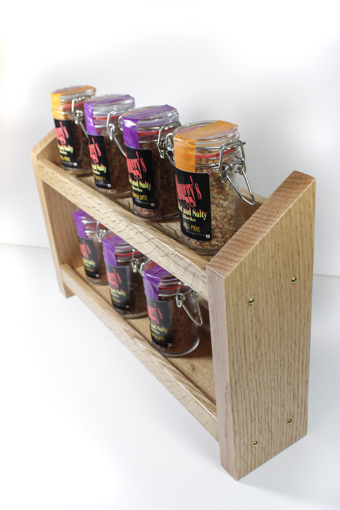 Spice Rack - End View
