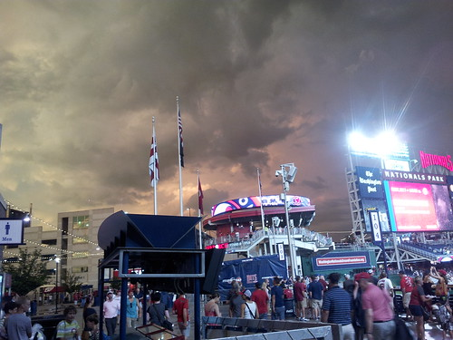 Stormy Night over Nationals Park