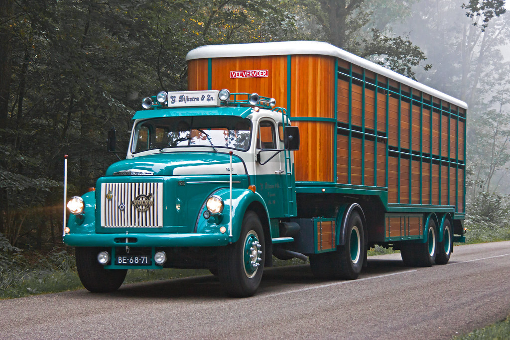 Volvo N88 44 1968 8253 Appearing Out Of The Morning