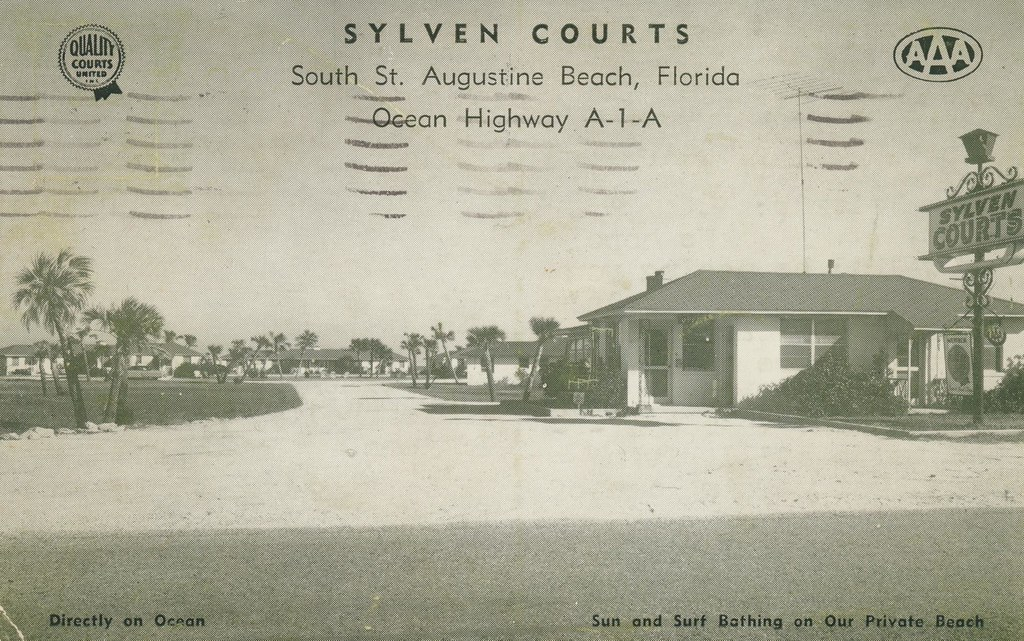 Sylven Courts - St. Augustine Beach, Florida