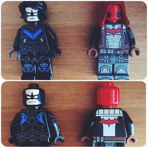 Lego Batman Arkham Knight: Lego Arkham Knight Nightwing Red Hood @Onlinesailin