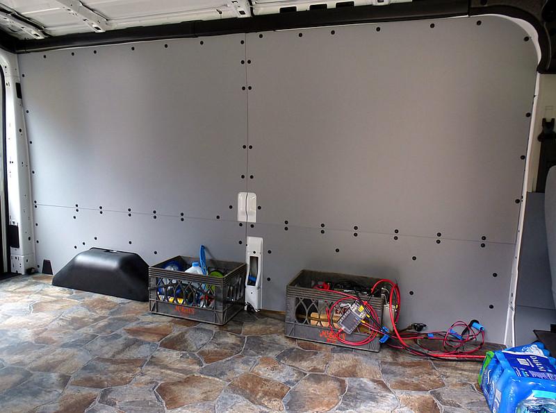 Ford Transit Usa Forum Cargo Van Interior Panel Liner Kits