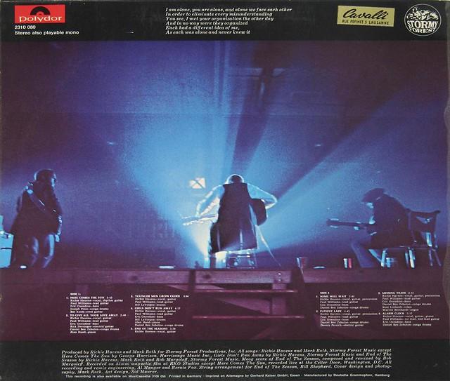 """Richie Havens Alarm Clock 12"""" vinyl LP"""
