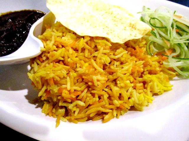Lolibee nasi bryani rice